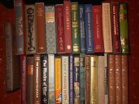 Folio Society book each £10