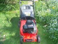 Champion Petrol Mower (full working order) With Grass Collection Box