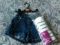 BRAND NEW*** GIRLS SHORTS & TIGHTS