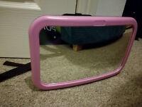 Wide View Car Safety Mirror - Rear Car Seat Headrest Mirror - Excellent condition