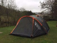 Tent for sale 3 Person poles, carry bag and ground sheet included