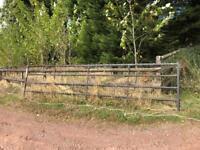 Cast Iron Farm Gate