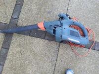 black & decker leaf blower