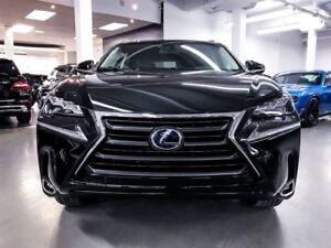 2017 Lexus NX 300h Hybrid Exec pkg, Navigation $789/mnth/Warrant