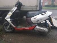 aprillia 50cc 2 stroke moped