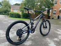 Specialized stumpjumper medium upgraded dropper post and SRAM EAGLE mountain bike