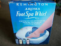 Remington Aroma Foot Spa.