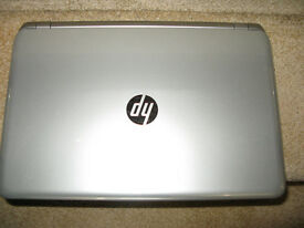 "Hp 15.6"" Touchscreen laptop fully reconditioned windows 10 office 2010"