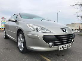 Peugeot 307cc HDI excellent condition service history