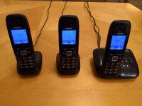Gigaset Cordless Telephones - set of 3