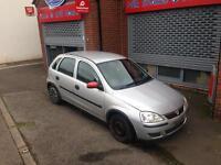 Vauxhall Corsa, (2004), 1.2 16v life,, 5 Door, Silver.