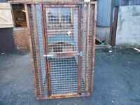 NEW TOP QUALITY DOG KENNEL AND RUN £350.00