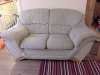 2 cream sofas 2 seater and 3 seater Free to collector