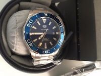 New Swiss Tag Heuer Aquaracer Stainless Steel Automatic Watch