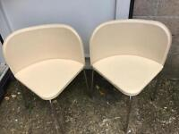 Pair of corner chairs FREE DELIVERY PLYMOUTH AREA