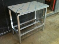4ftx2ft food grade stainless top table