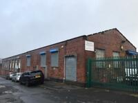 Warehouse / Industrial Unit Commercial To Let/ Rent 2140 sq ft. 1 minute from M61. No Rates.
