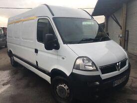 Price drop !!! Vauxhall movano for sale 2,5diesel lwb, good runner
