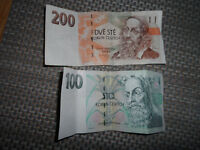 300 CROATIAN KUNA TWO NOTES 200, 100 buy today £32