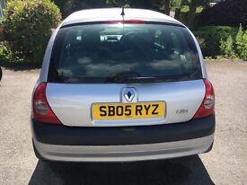 Renault Clio, 1.2, 16V, long mot, new head gasket, sunroof
