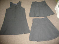 Girls School Uniform - M&S Dress & Two Pleated Skirts Age 5