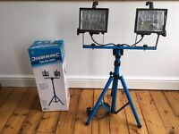 Pair of SILVERLINE Twin Painters Lights - Site Lights (Originally £48)