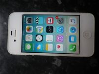 WHITE IPHONE 4S RARE 64GB MODEL , EXCELLENT CONDITION FULLY BOXED ON O2 NETWORK