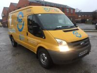 Ford transit van 2009 2.4 tdci lwb 1 owner drives excellent 6 speed mot 2 keys no vat