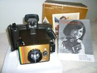 Polaroid Camera with box,