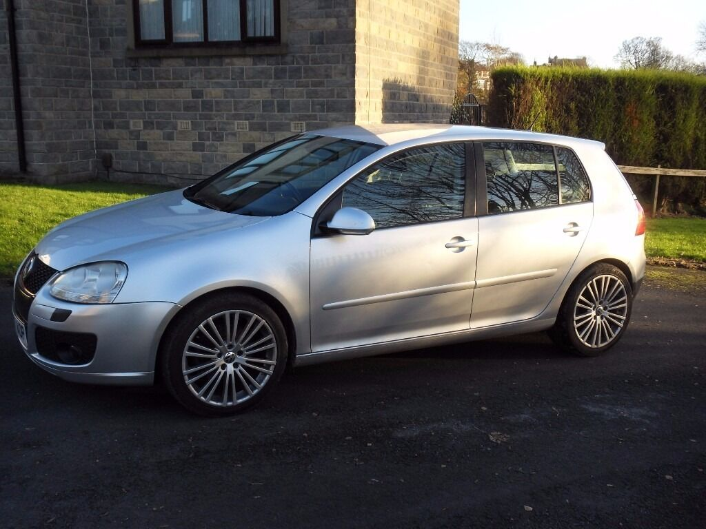 vw golf 2 0 gt tdi 07 reg 18 inch alloys