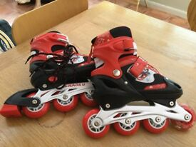 Brand new inline skates extendable child size 2-5