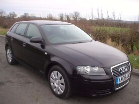 2008 AUDI A3 1.6 SPECIAL EDITION - NEW CAMBELT AND WATER PUMP - SERVICE HISTORY - PREVIOUS MOT'S