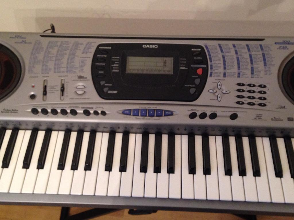 casio ctk 671 keyboard in langside glasgow gumtree. Black Bedroom Furniture Sets. Home Design Ideas