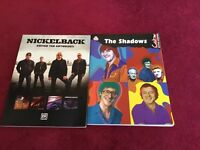 Nickelback and The Shadows guitar book