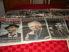 Sinatra Death Tributes