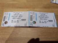 2 Seated Olly Murs tickets £87
