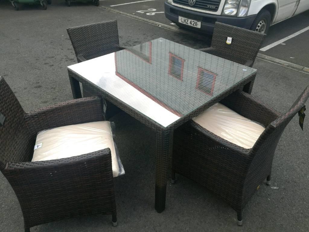 Ex display garden furniture