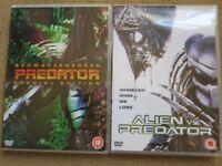 PREDATOR ALIEN DVD BUNDLE – 2 ORIGINAL DVDs £1