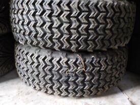 Autograss, autocross, off road. Pair 195/60/15 Knobblies on alloys, £60