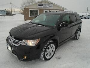 2013 Dodge Journey Crew 7 Passenger Sunroof V6 Heated Seats