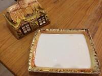 Cottageware Butter Dish