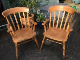 Pine carver chair (only 1 remaining)