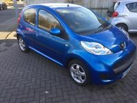 Peugeot 107 2010 12 months mot cheap tax £20 year