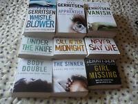 11 Tess Gerritsen books all in v good condition