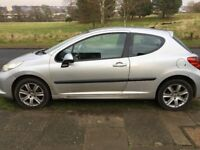 Peugeot 207 1.6 diesel sport 2007, Ideal first car, great on fuel cheap tax** £30 annually
