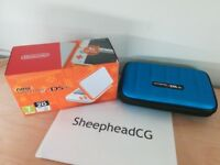 NEW Nintendo 2DS XL Console - Brand New with Case - Orange & White RRP: 120