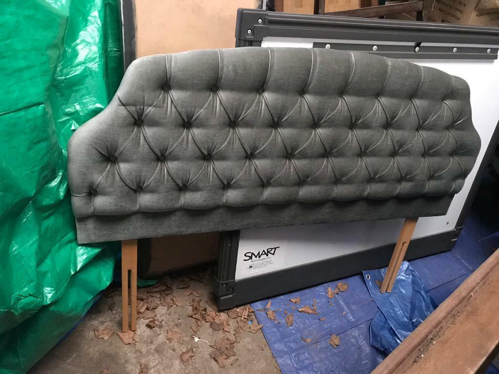 Astonishing 5Ft Double Headboard Old Green 80S Upcycling In Shepton Mallet Somerset Gumtree Unemploymentrelief Wooden Chair Designs For Living Room Unemploymentrelieforg