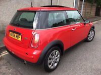 mini one 1598cc red 04 plate 1295 ono