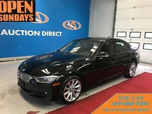 2013 BMW 320I xDrive SUNROOF! LEATHER!