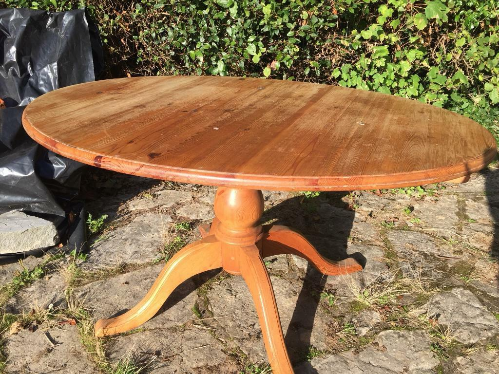 Antique pine table and chairs - Antique Pine Table And Chairs In Wimborne, Dorset Gumtree